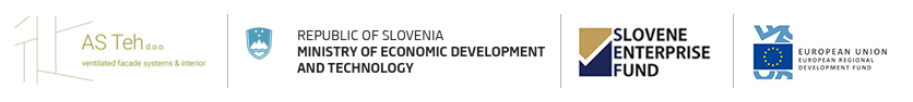 The investment is co-financed by the Republic of Slovenia and European Union under the European Regional Development Fund.